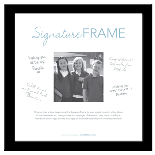 Signature Photo Frame