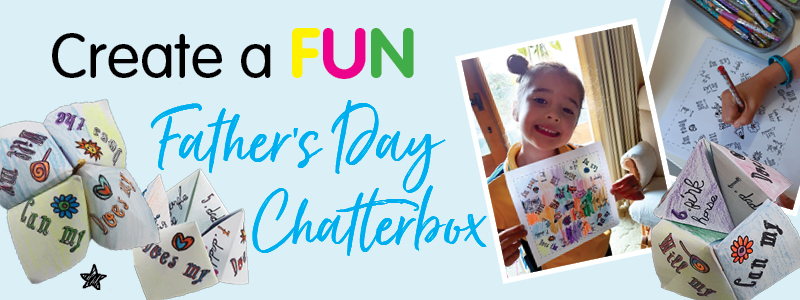 Create a Fun Father's Day Chatterbox