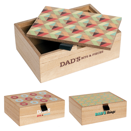 Wooden Bits & Pieces Box