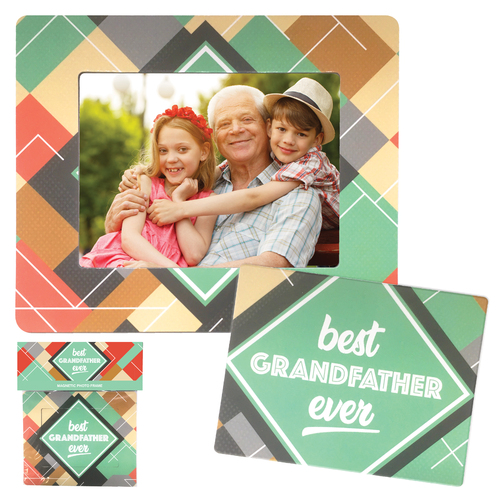 Grandfather Magnetic Photo Frame